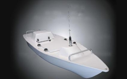 GPS・ソナー搭載自立走行無人ボート RC-S3